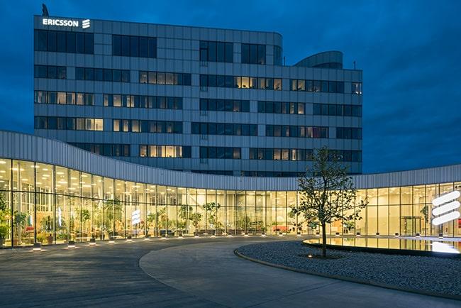 Ericssons huvudkontor i Kista